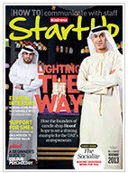 ITP Publishing Group Start Up Magazine November 2013 Issue with Article by Mila Araujo on Hashtags